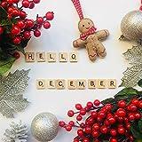 200PCS Scrabble Letters for Crafts - Wood