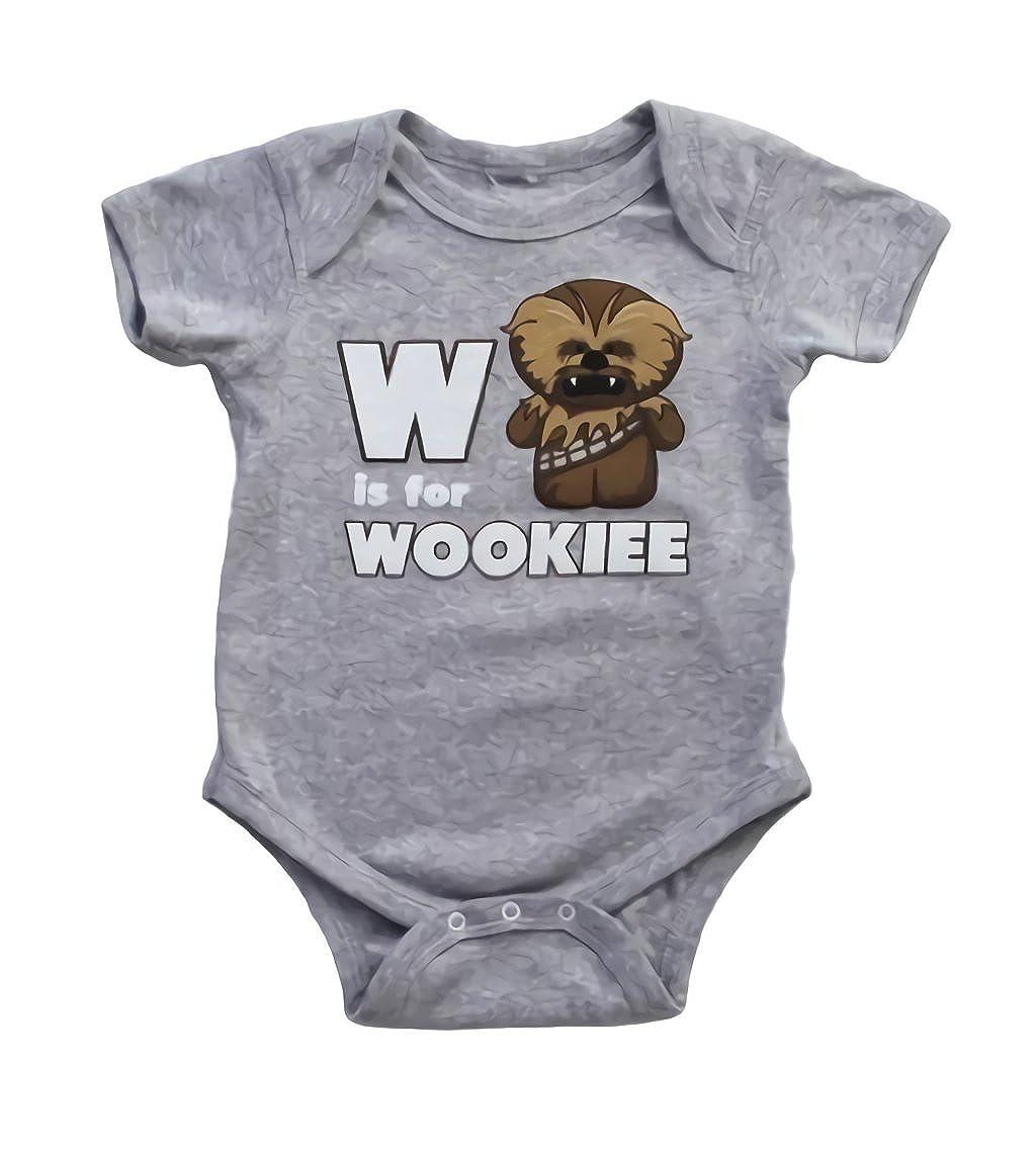 Star Wars W is for Wookie Infant Onesie