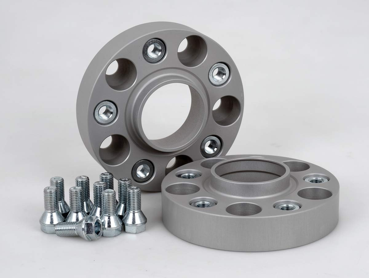 Spurverbreiterung Aluminium 2 St/ück T/ÜV-Teilegutachten /& ABE 30 mm pro Scheibe // 60 mm pro Achse inkl