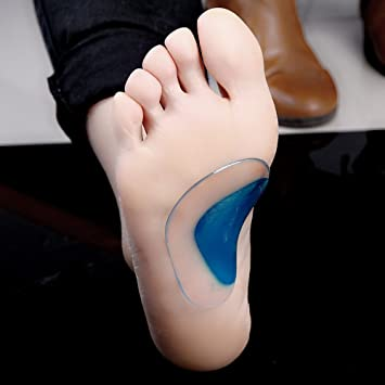 1Pair Orthotic Arch Support Insole Flat Foot Correction Cushion Shoe Inserts Pad