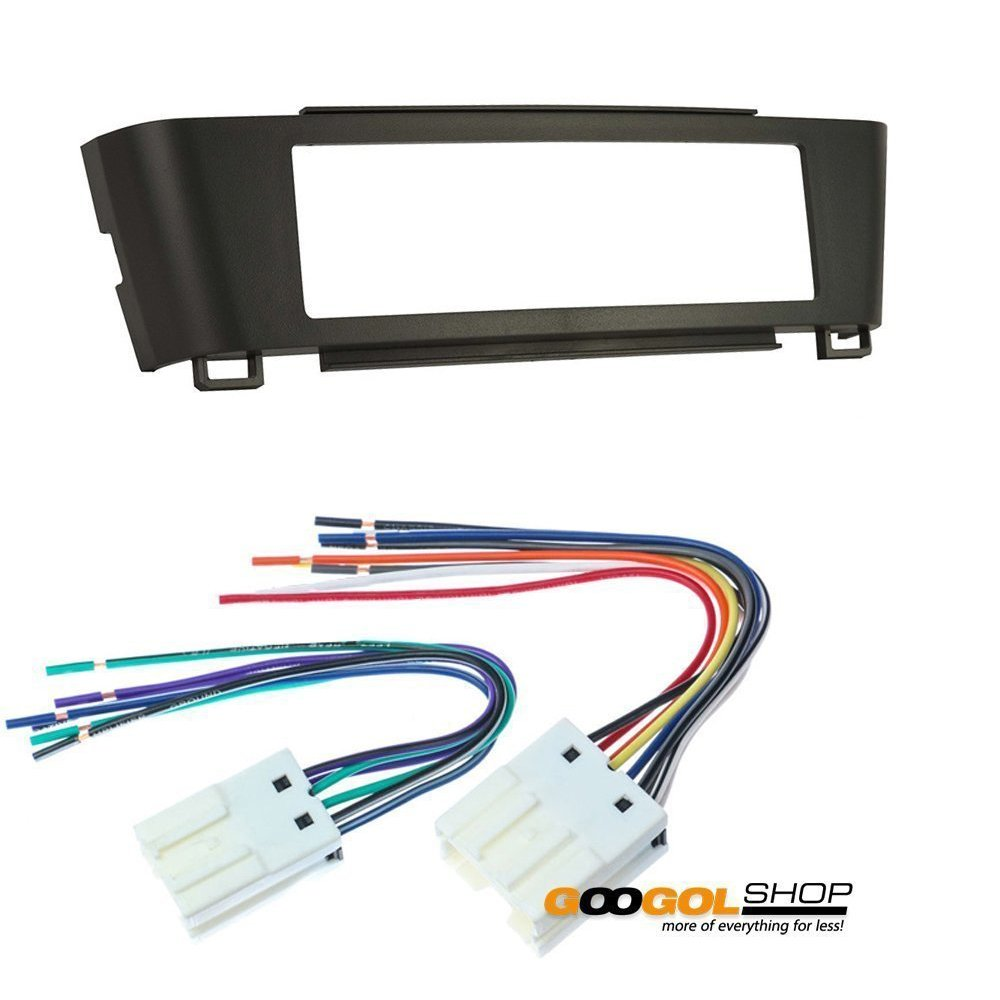 car stereo dash install mounting kit wire harness for nissan sentra 000 2001 2002 2003 2004 2005 2006 2003 Nissan Murano Wiring Harness