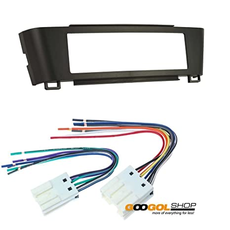 amazon com car stereo dash install mounting kit wire harness for rh amazon com nissan wiring harness clips nissan 240sx wiring harness