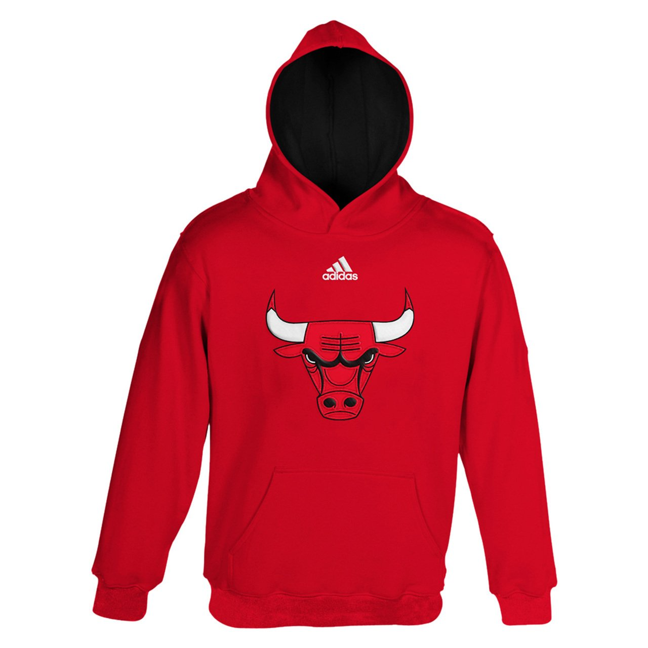 Amazon.com   NBA Youth 8-20 Chicago Bulls Prime Pullover Hoodie -Red-M(10-12)    Sports Fan Sweatshirts   Sports   Outdoors 4f79c99c8