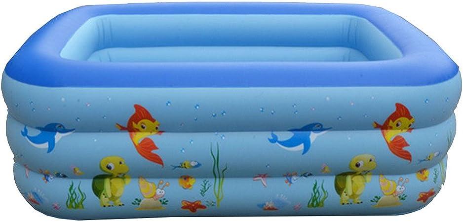 YIWANGO Piscina Inflable Piscina Piscina Infantil PVC Tres Capas Protección Ambiental Gruesa Burbuja Inflable Niños,Squid-210 * 150 * 65: Amazon.es: Hogar