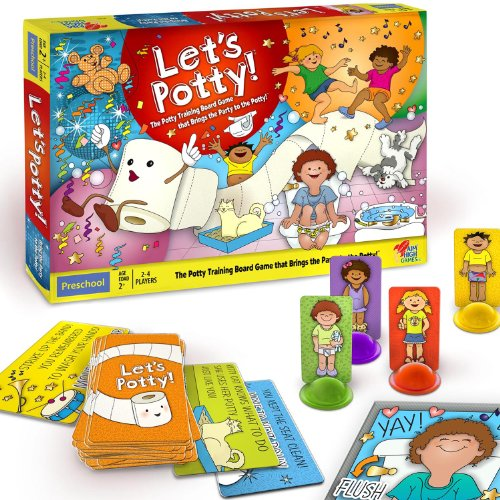 Let's Potty! The Potty Training Board Game That Brings the Party to the Potty!, Baby & Kids Zone
