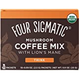 Four Sigmatic - Mezcla del café de la seta con la melena y Chaga del león - 10Paquetes