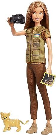 La muñeca barbie y national geographic colaboran para fomentar la imaginación, la expresión y los de