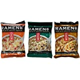 Koyo Vegan Organic Noodle Ramen 3 Flavor 9 Bag Variety Bundle: (3) Asian Vegetable, (3) Seaweed, and (3) Tofu Miso, 2-2.1 Oz Ea (9 Tot)
