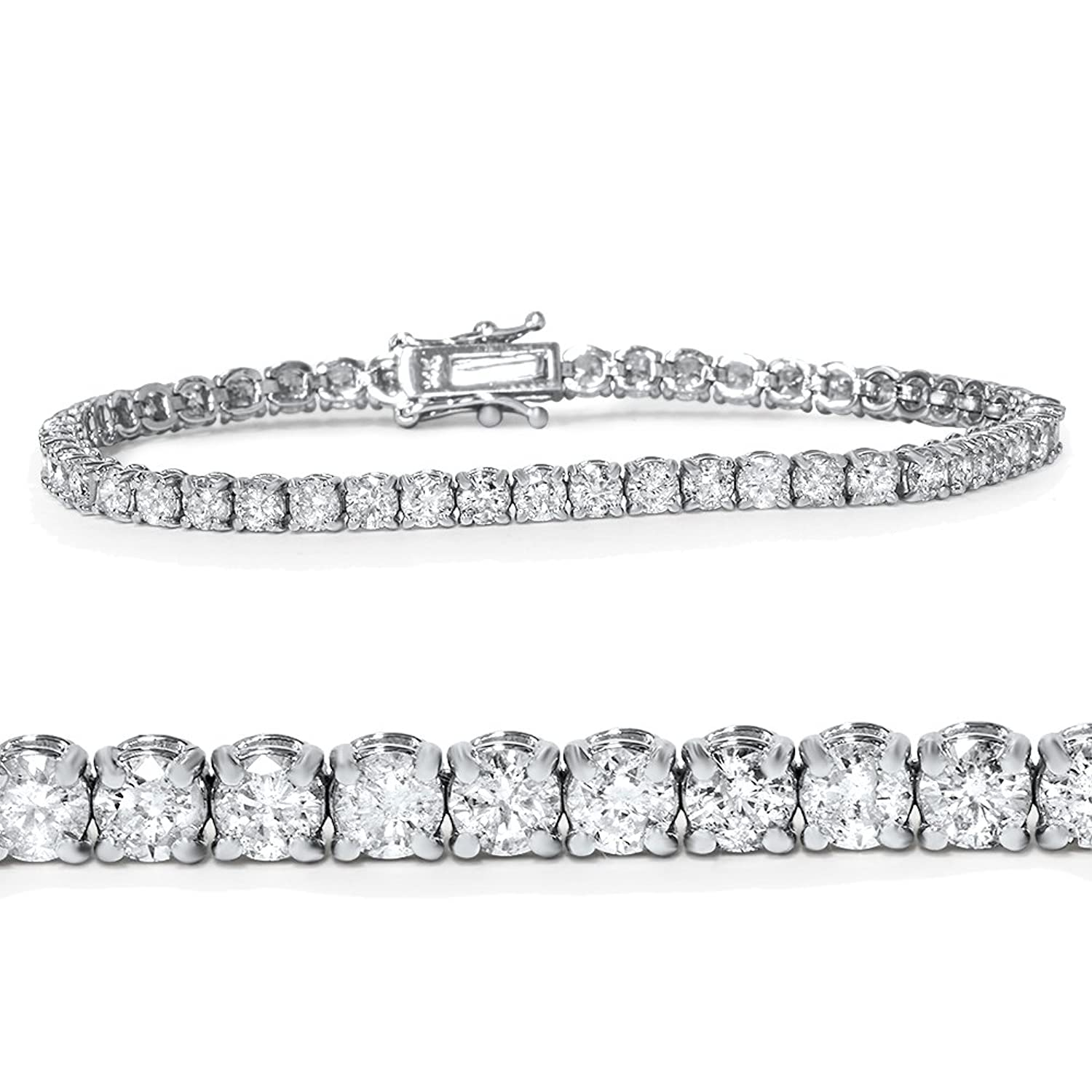 sale product unique from diamond gemone make tennis and white bracelet diamonds black offer