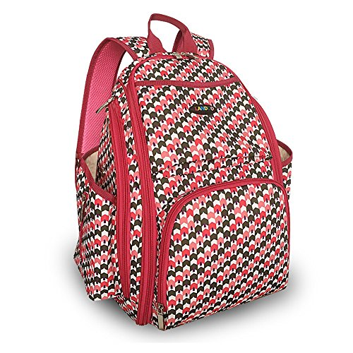 Bolso de la momia, bolso estéreo multi-function 3D, bolso multi-functional de la momia, bolso del bebé de la madre ( Color : Marrón ) Rojo