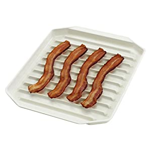 "Nordicware Freeze Heat & Serve Bacon Rack 9-3/4"" X 8"" (1)"