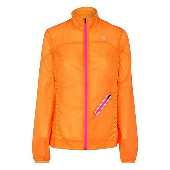 5cb5a891 Diadora L. Wind Jacket 97004 - 01 (Ripe Mango) Running Jacket Women ...