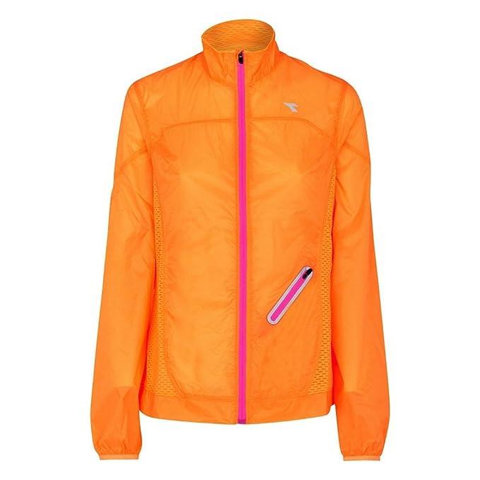 Diadora L. Wind Jacket 97004 - 01 (Mango Ripe) Chaqueta ...