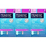 Monistat Care Vaginal Health Test | pH Test | Test Before You Treat | 2 Swabs | Pack of 3 Boxes