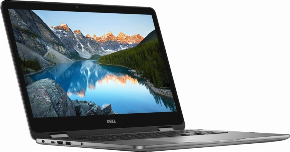 Dell Inspiron I7773 2-in-1 17.3'' FHD Touch Screen Laptop Upgrade 8th Gen Intel i7-8550U NVIDIA GeForce MX150 with 2GB GDDR5 USB-C Port Best Notebook Stylus Pen Light (512GB SSD+2TB|16GB RAM|10 HOME)