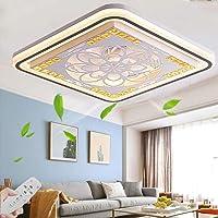 LED Moderno Lámpara De Techo Ventiladores De Techo Con Lámpara Y Control Remoto…