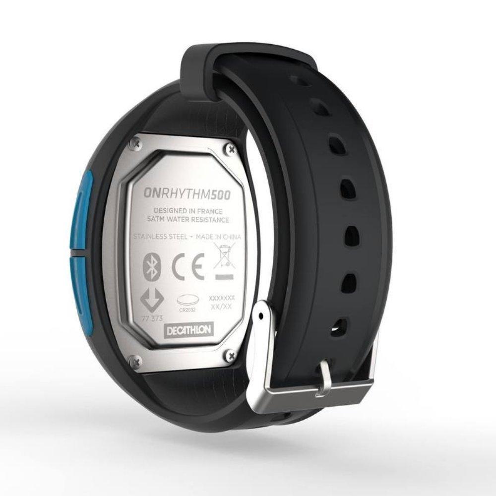 KALENJI Onrhythm 500 fréquence Cardiaque Montre de Course, Bleu: Amazon.fr: Sports et Loisirs