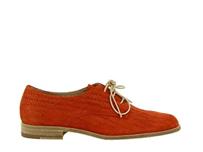 Chaussures À Orange Femme Amazon Castaner Lacets Cuir 1cav5852701 awqgXx4I