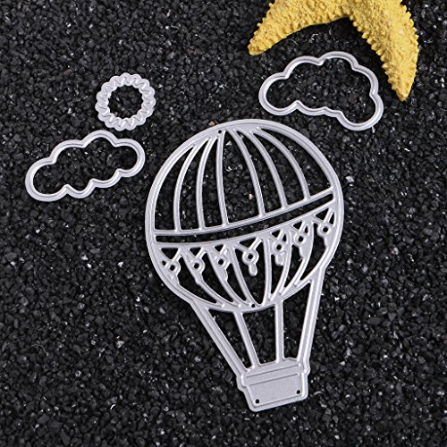 Balloon Metal Cutting Dies Stencil Scrapbook Paper Cards Craft Embossin Kd