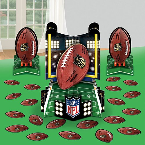 'NFL Drive Collection' Party Table Decorating Kit