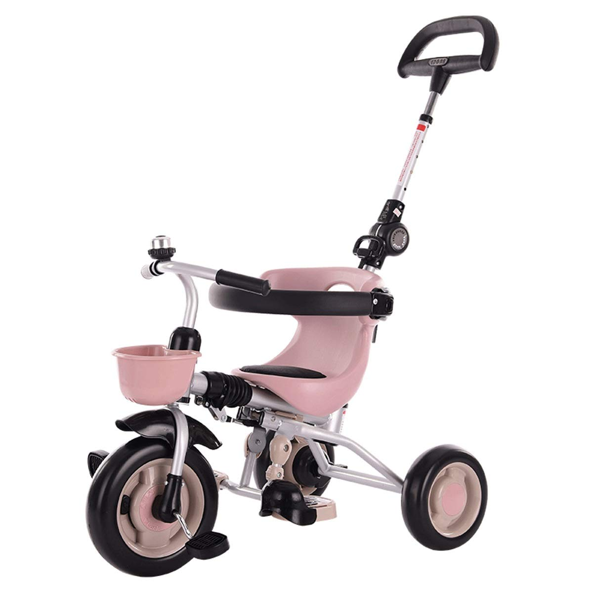 Baianju Folding Children's Tricycle Baby Stroller Pedal Bicycle Stroller Child Toy