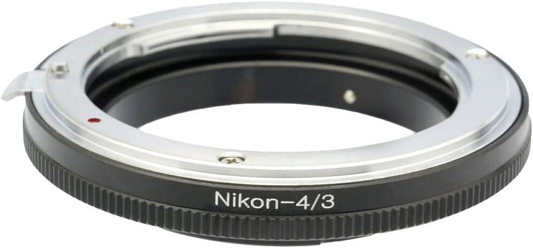 Panasonic Lumix DMC-L10 DMC-L1 Leica Digilux 3 to Nikon Lens Photo Plus Adapter for Olympus E-5 E-3 E-1 E-620 E-520 E-500 E-450 E-420 E-410 E-400 E-330 E-300