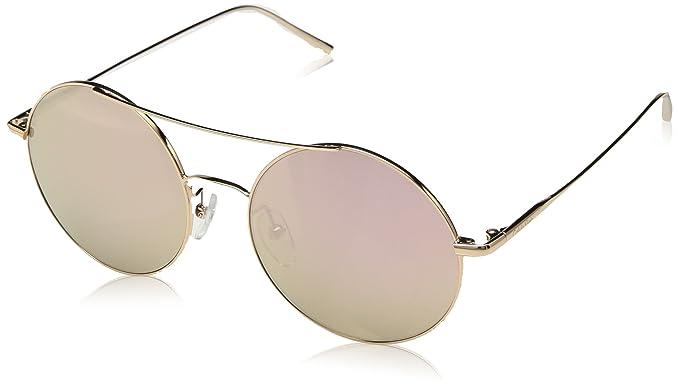 d57c75dec77f Image Unavailable. Image not available for. Color: Calvin Klein Women's  Ck2156s Round Sunglasses, Rose Gold ...