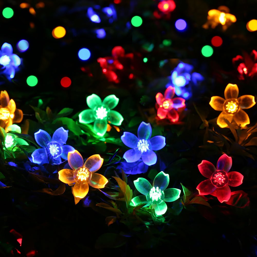 Battery Powered Flower Lights