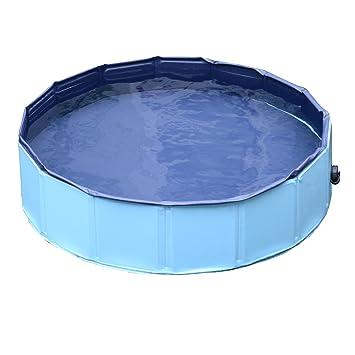 Bassin piscine pour chien PVC pliable anti-glissant facile à ...