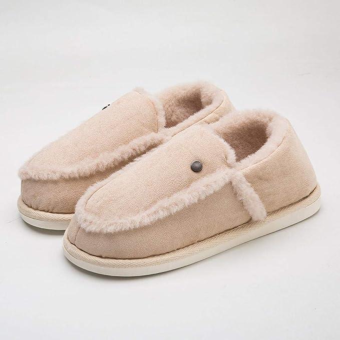 RenshenX Caliente Calienta Zapatillas Estar,Zapatos Felpa Gamuza ...