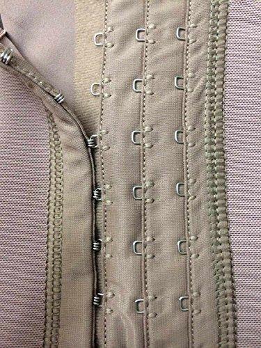 2ed8bd9f82b Fajas DPrada 11175 Braless Shapewear Post Surgery Compression Garment Girdle