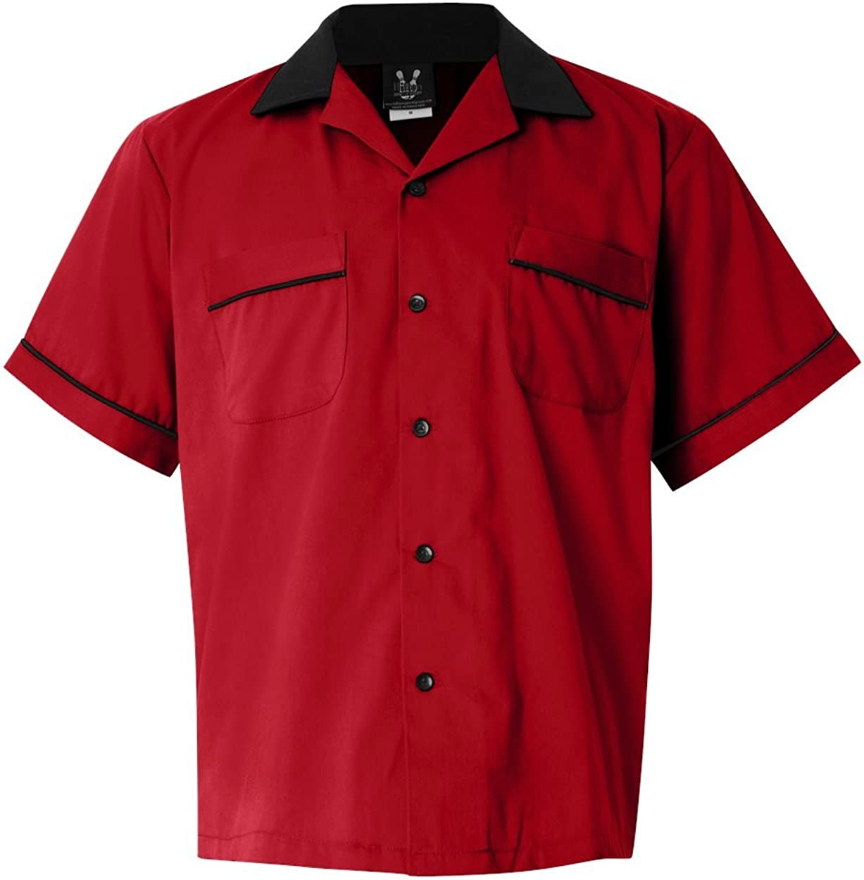 S Hilton Bowling Retro Gm Legend Red/_Black
