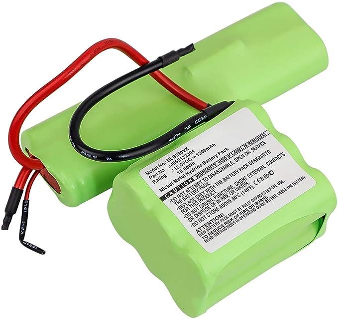subtel® Batería Premium 12V, 1300mAh, NiMH Compatible con AEG ...