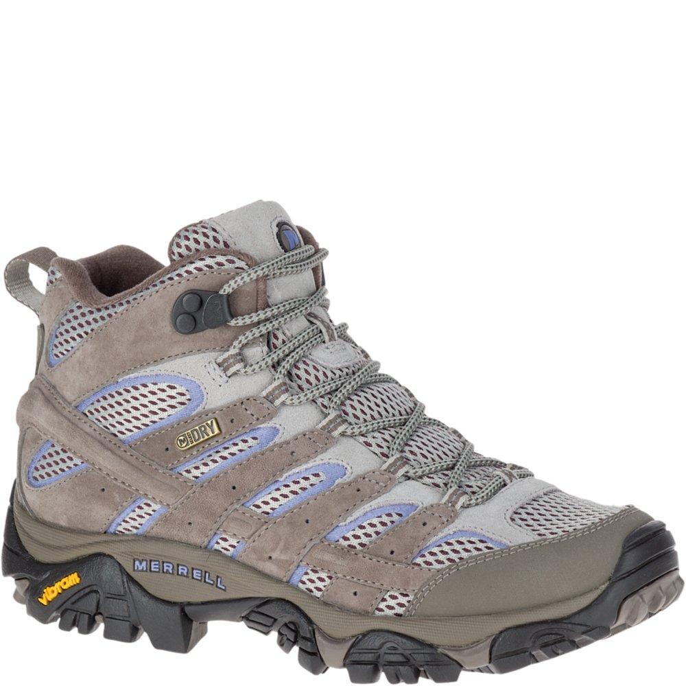 Merrell Women's Moab 2 Mid Waterproof Hiking Shoe, Falcon, 8.5 M US