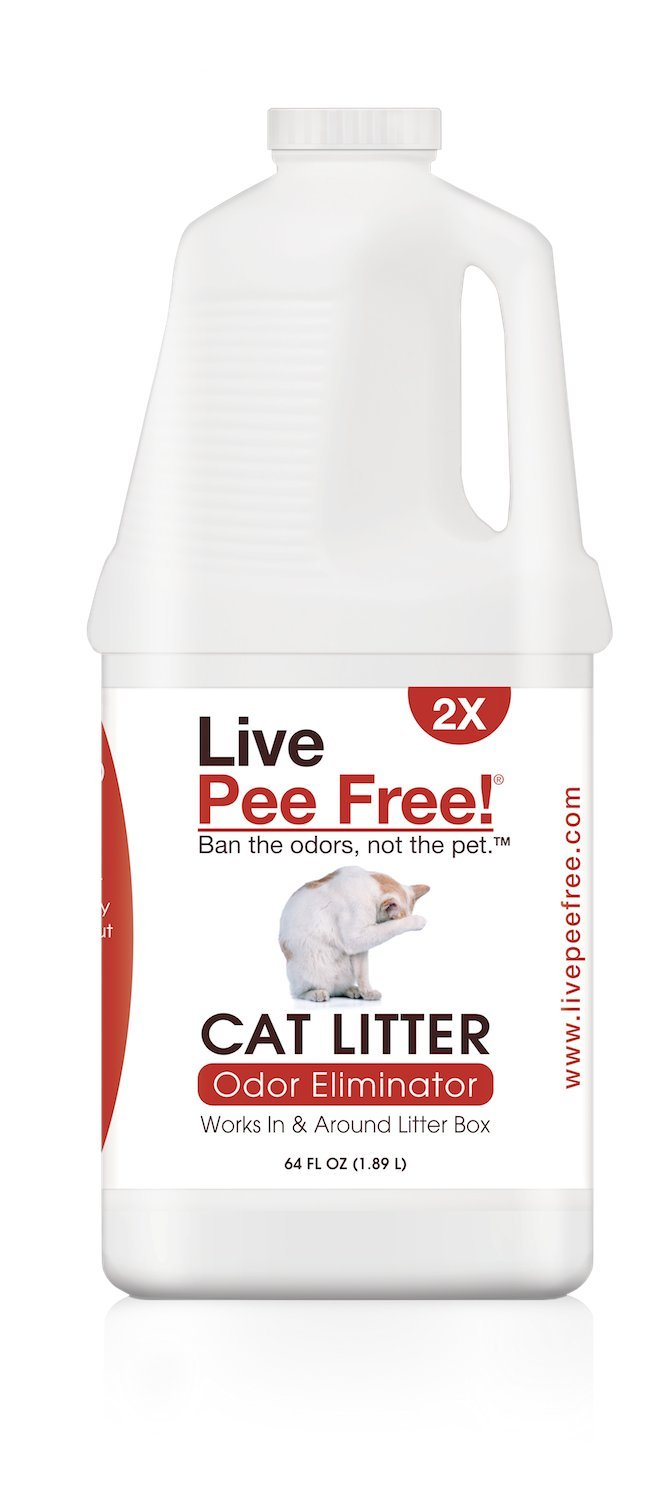 Live Pee Free! Cat Litter Odor Eliminator 2X by Live Pee Free!