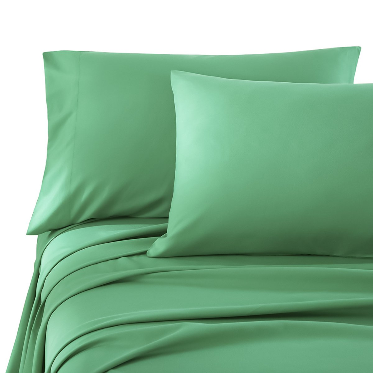 Honeymoon Brushed Microfiber Twin Bed Sheet Set, Turquoise