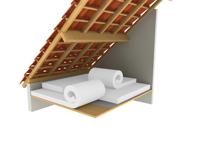Rouleau laine de verre PURE 40RP rev/êtu kraft 3m/²60-260mm Isolation combles perdus URSA R 6.50