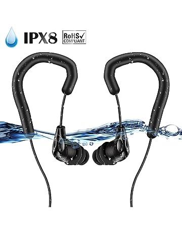 AGPTEK Acuatico Reproductor de MP3 (Auriculares Impermeable E13)