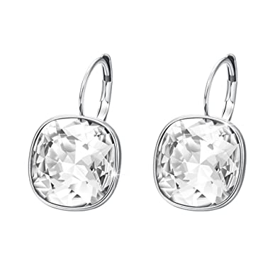 f2e31abf0 Xuping Halloween Fashion Crystals from Swarovski Huggies Hoop Earrings  Black Friday Women Jewelry Gifts: Amazon.ca: Jewelry