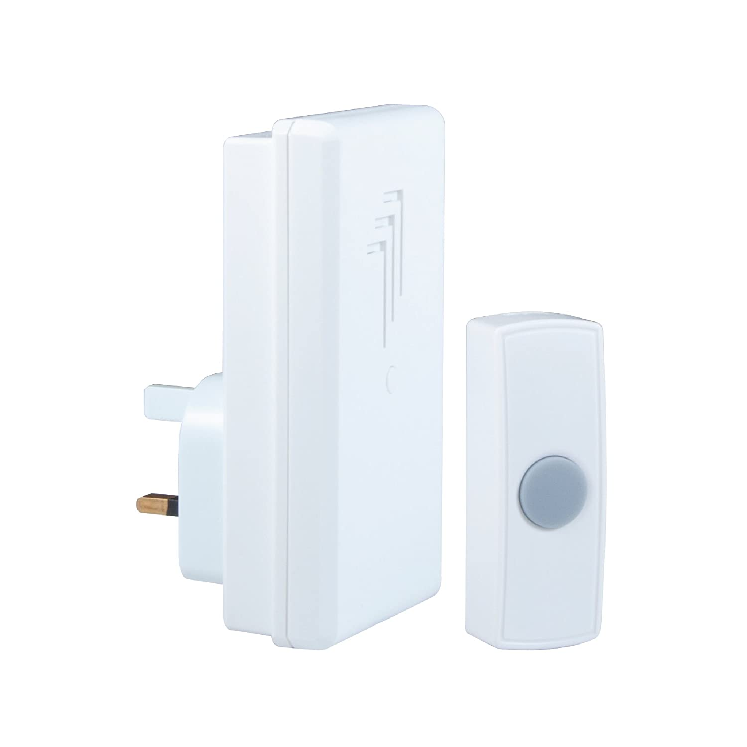 Byron DB302 30m Wireless Plug-In Door Chime Kit with 1 Sound