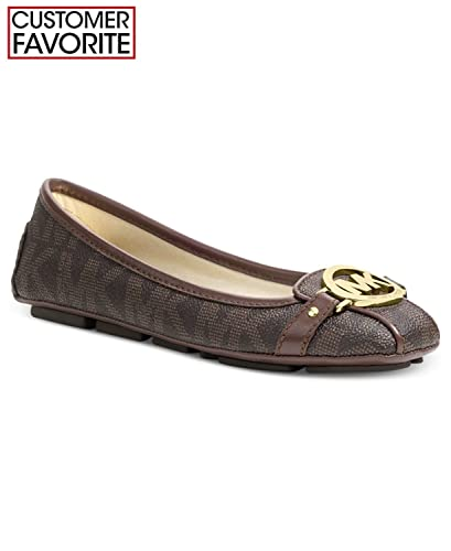 fc4c80325004 Amazon.com | Michael Michael Kors Wide Width Fulton Moc Flats Women's Shoes  | Shoes