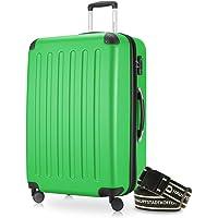 Hauptstadtkoffer Spree Hartschalen-Koffer Trolley 4 Rollen, TSA (S, M & L) +Gepäckgurt