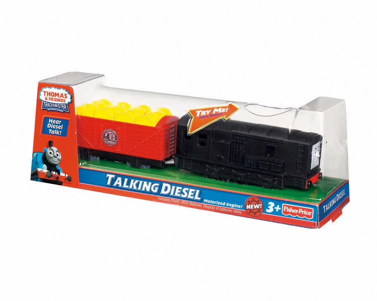 Amazon Thomas Friends Fisher Price TrackMaster Talking Diesel Toys Games