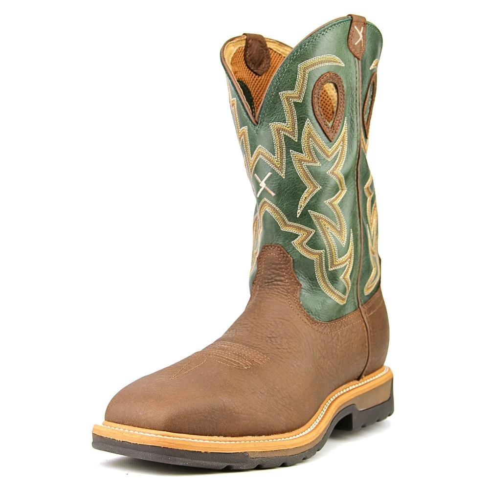 Twisted X メンズ Lite Cowboy Work 12'' B005DIJJMY 10.5 2E US ブラウン ブラウン 10.5 2E US