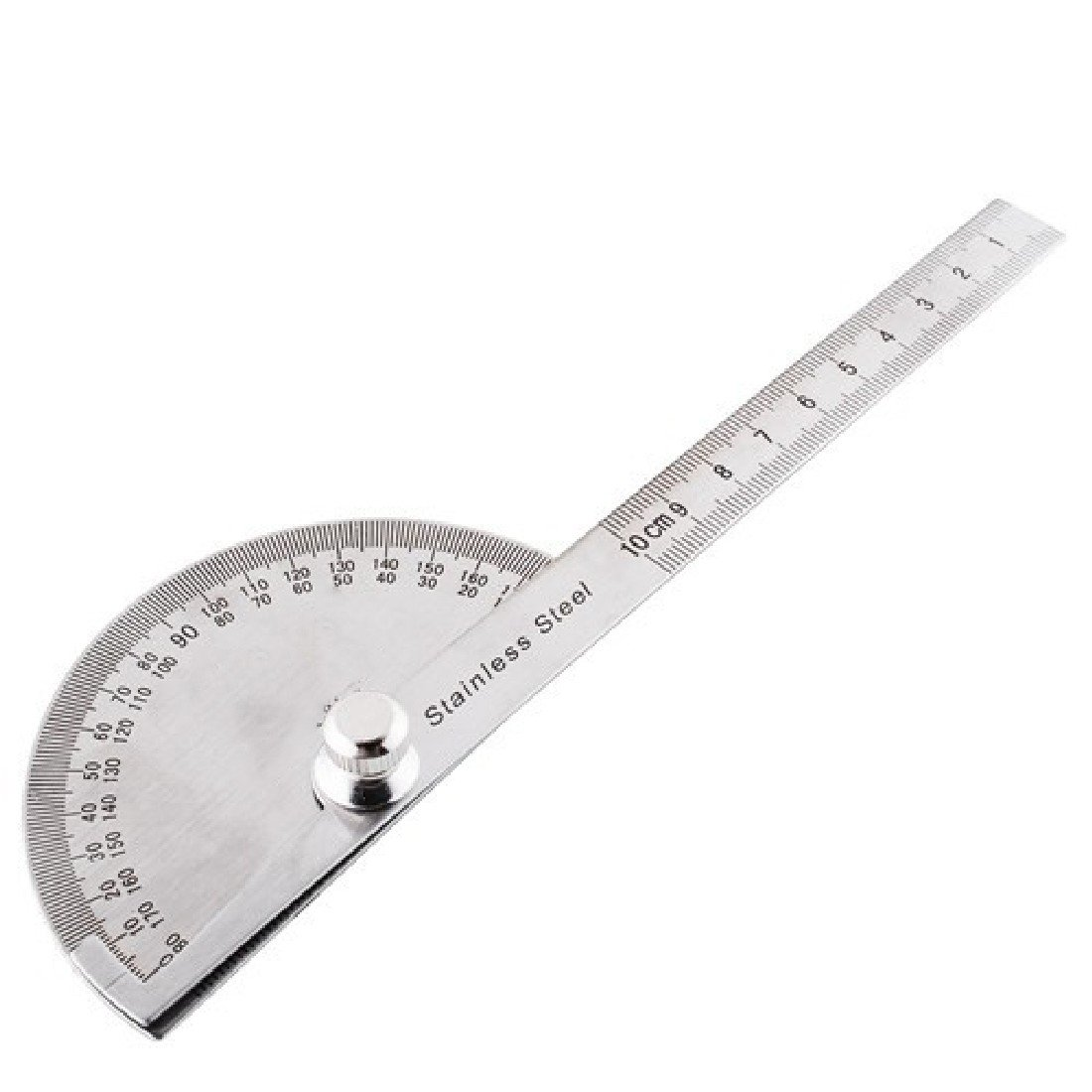 KS Tools 300.0701  Protractor with rule 400mm