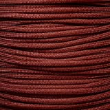 Mil Spec Type III 550 Paracord - 7 Strand Core - Red - Nylon Commercial Grade, Parachute Cord, Survival Cord - 10 Ft Hank