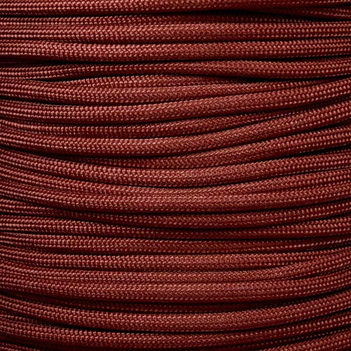 Mil Spec Type III 550 Paracord - 7 Strand Core - Red - Nylon Commercial Grade, Parachute Cord, Survival Cord - 10 Ft Hank by PARACORD PLANET (Image #1)