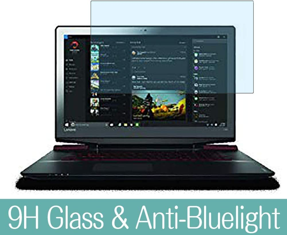 """Synvy Anti Blue Light Tempered Glass Screen Protector for Lenovo ideapad Y700 Non Touch 15.6"""" Visible Area 9H Protective Screen Film Protectors"""