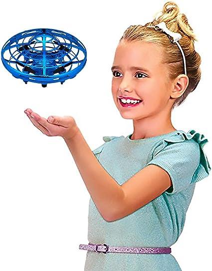 Azul cielo Webla Suspensi/ón Iluminaci/ón inteligente Inducci/ón Juguetes Inducci/ón Vuelo Helic/óptero
