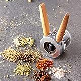 Dreamfarm Ortwo-One-Handed Salt, Pepper Spice